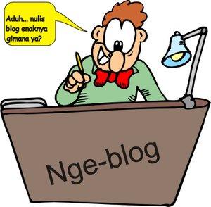 Belajar Ngeblog dengan fransuper